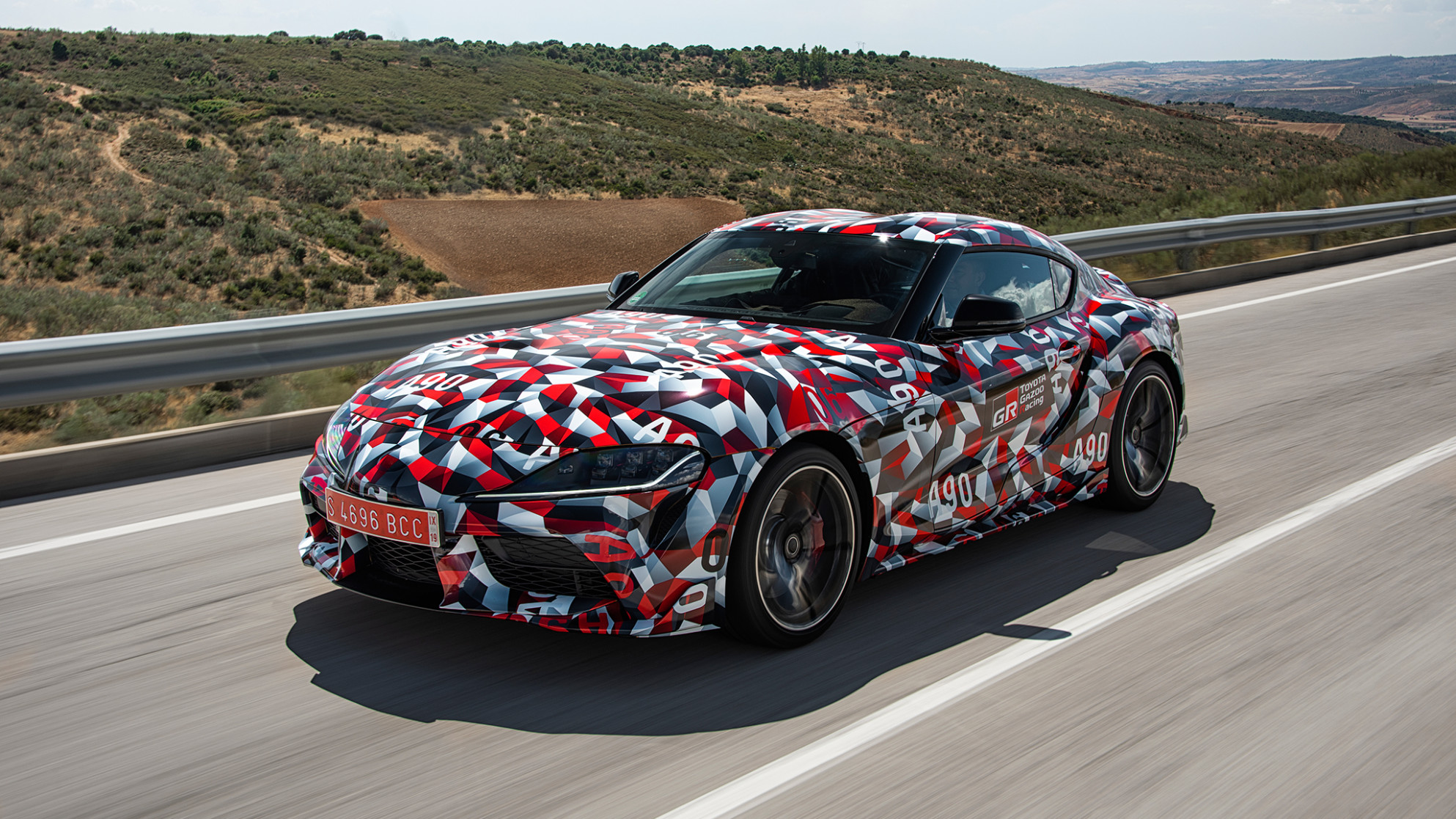 Photos 2022 Toyota Supra Barrett Jackson