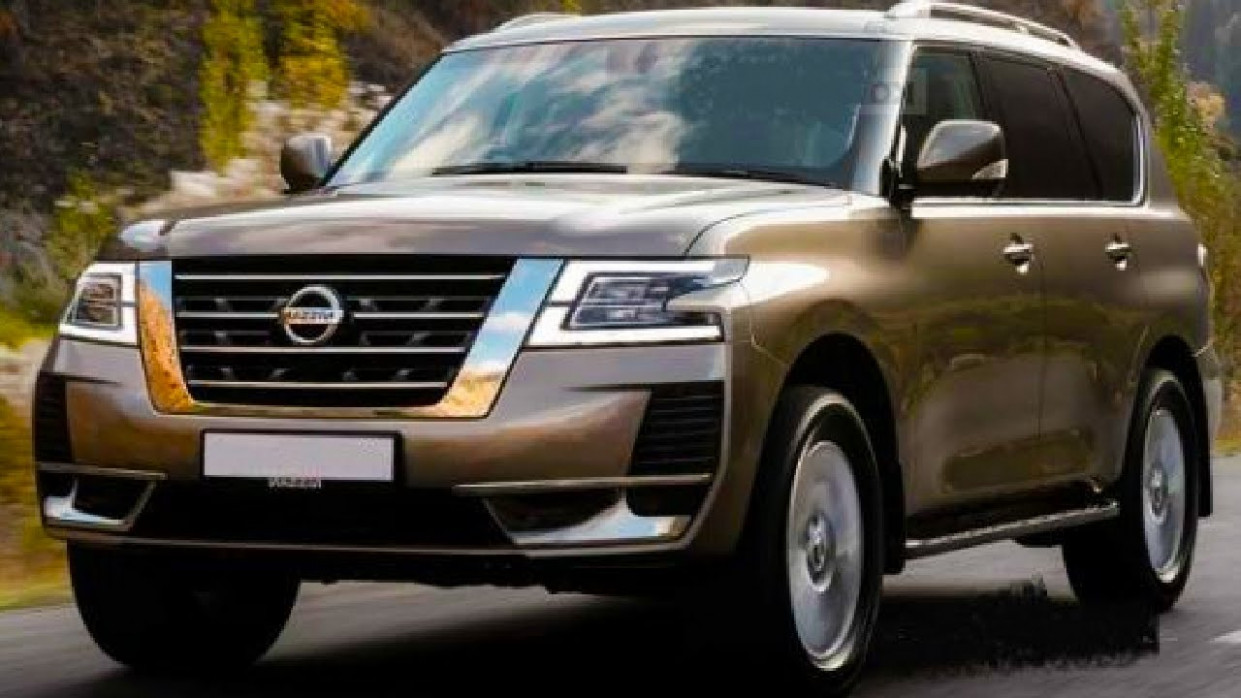 Configurations Nissan Patrol 2022 Redesign