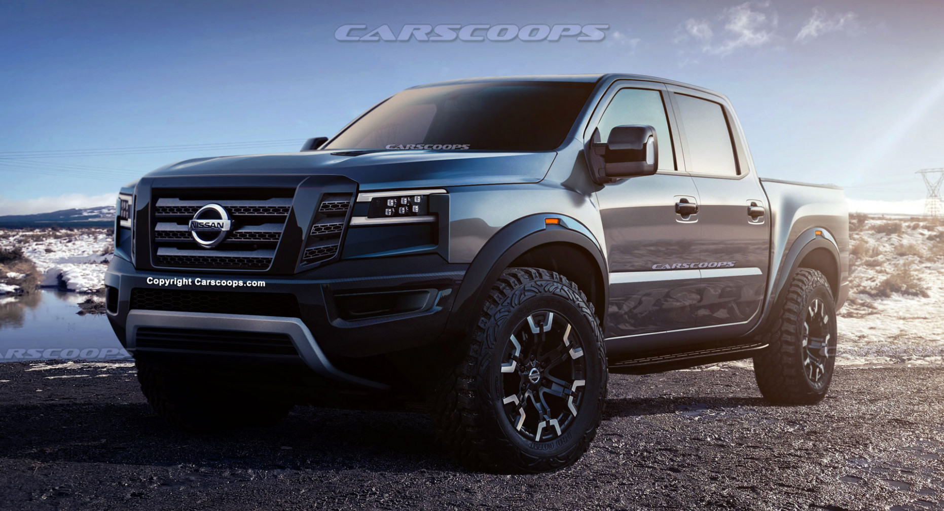 Redesign and Concept Nissan Titan 2022
