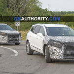 New Model and Performance 2022 Buick Enclave Spy Photos