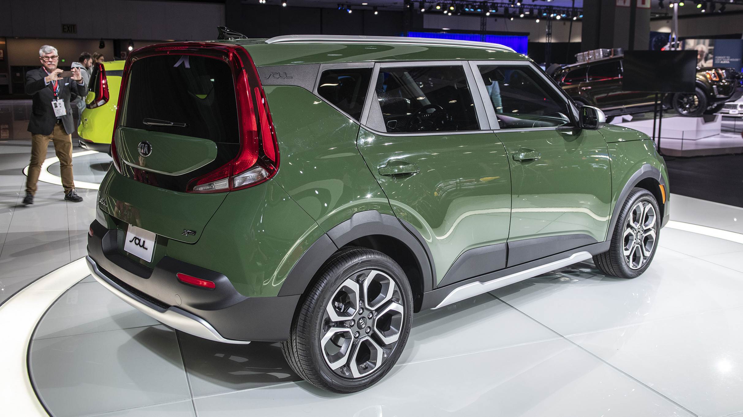 Price and Release date 2022 Kia Soul Undercover Green
