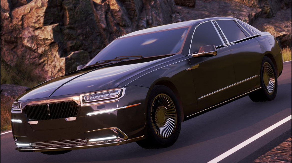 Exterior 2022 The Lincoln Continental