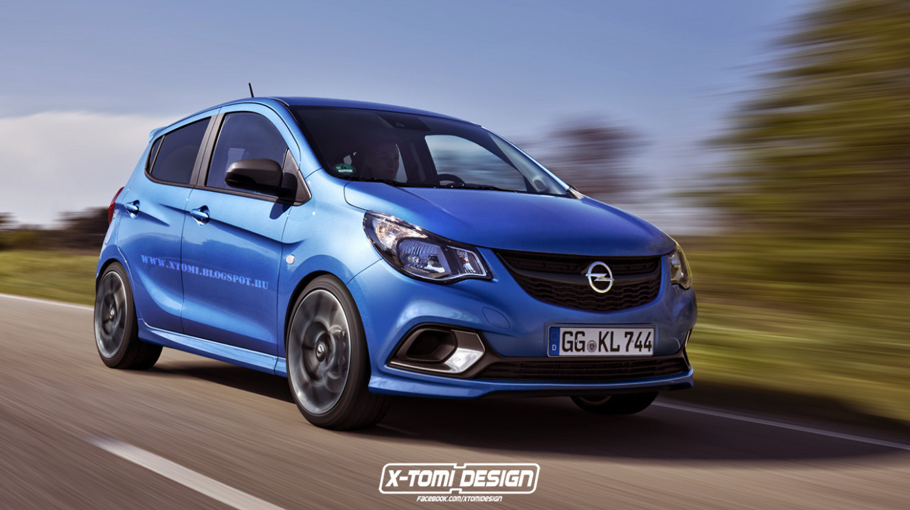 Style Nouvelle Opel Karl 2022