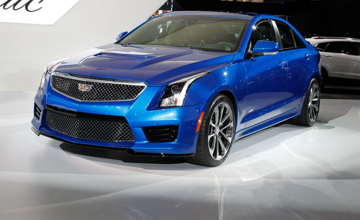 Spy Shoot 2022 Cadillac Ats V Coupe