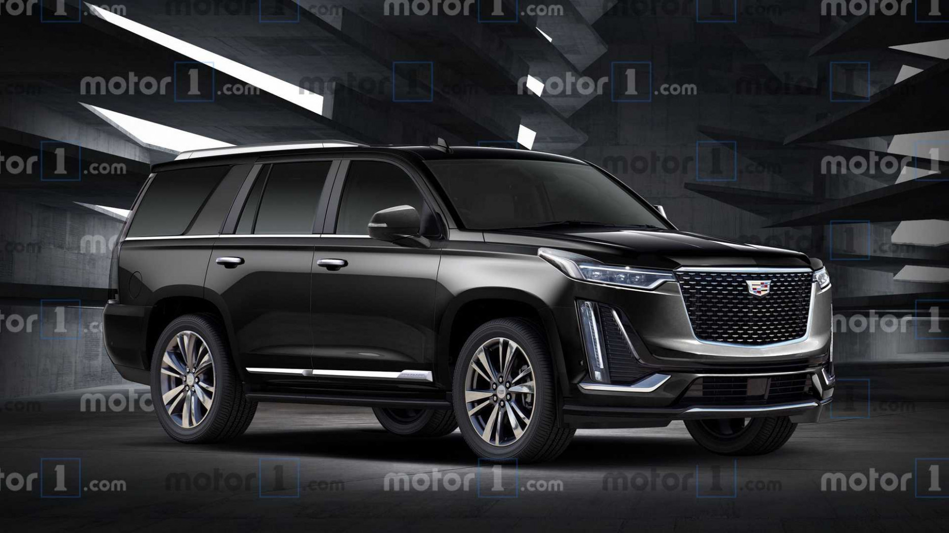 First Drive 2022 Cadillac Escalade Images