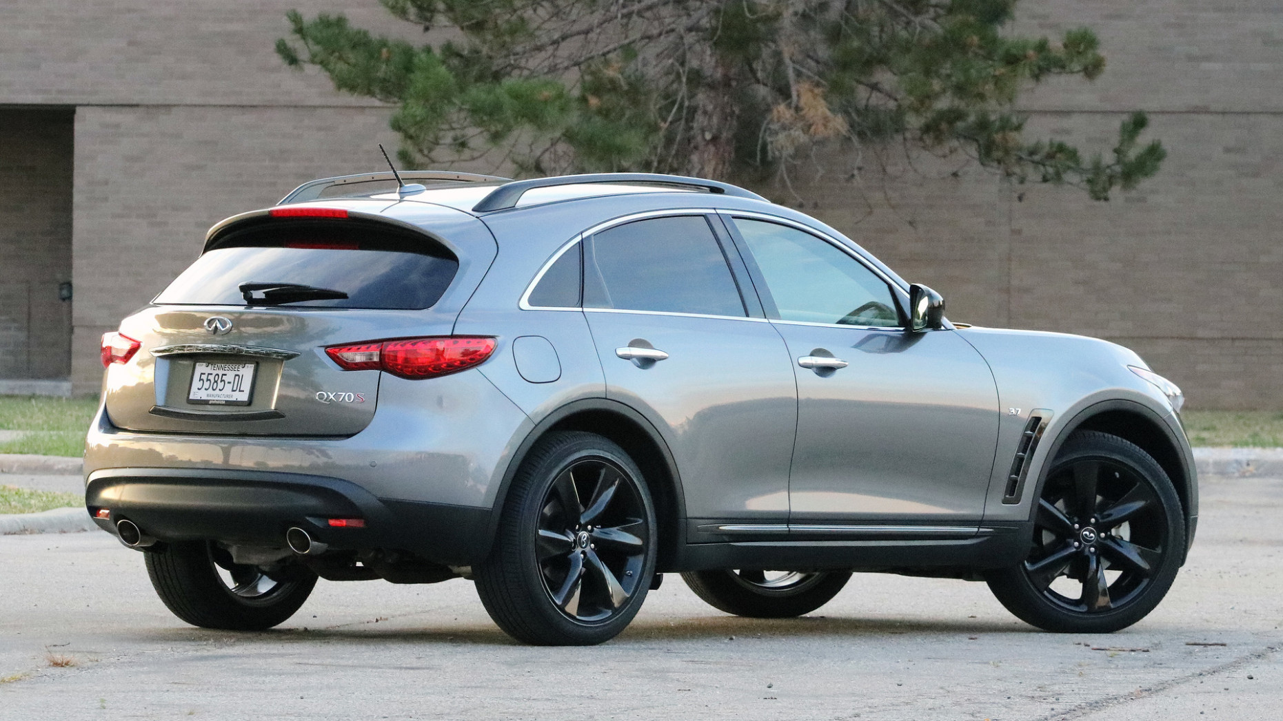 Spy Shoot 2022 Infiniti QX70