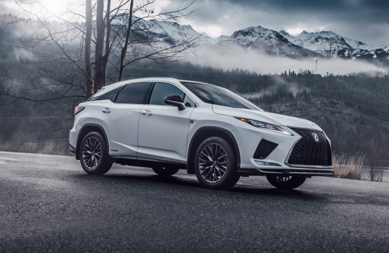 Speed Test 2022 Lexus RX 350