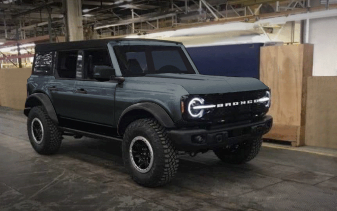 Redesign and Review Dwayne Johnson Ford Bronco 2022