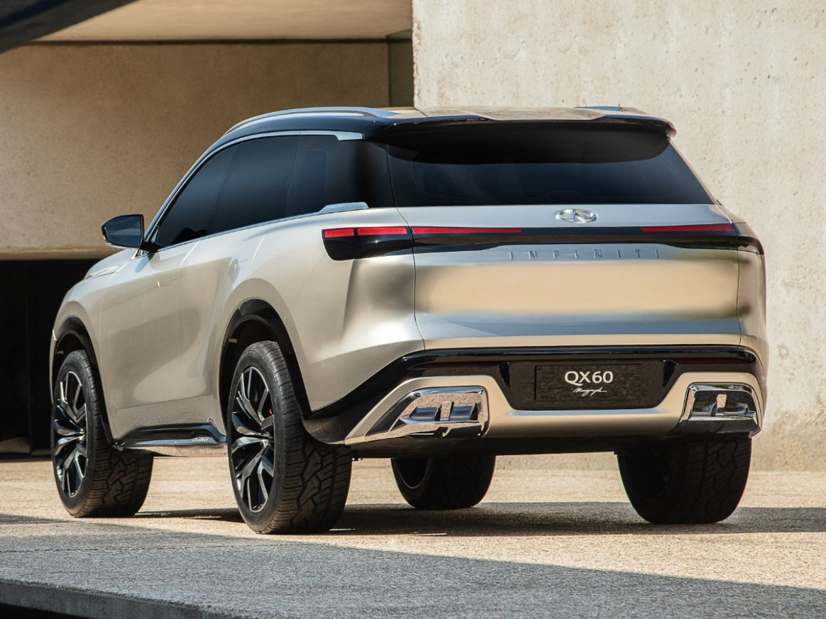 Concept and Review Infiniti Qx60 2022 Redesign