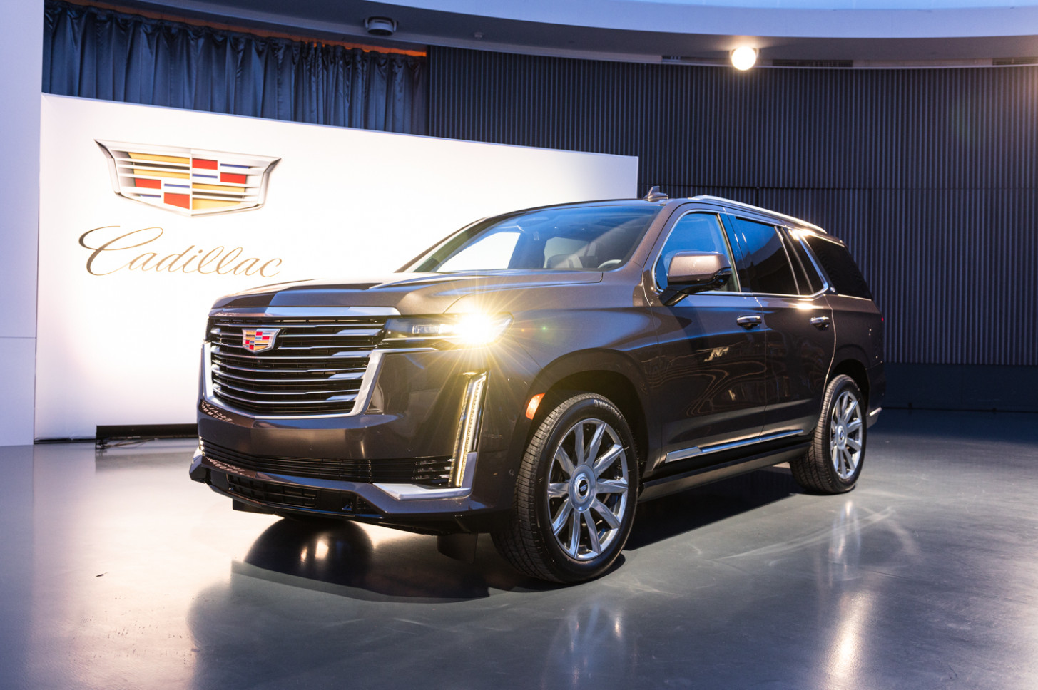 Spy Shoot Pictures Of The 2022 Cadillac Escalade