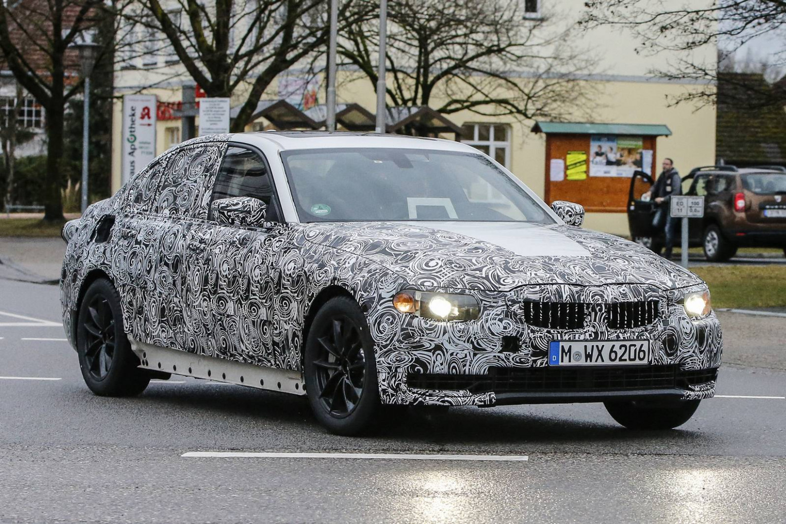 History Spy Shots BMW 3 Series
