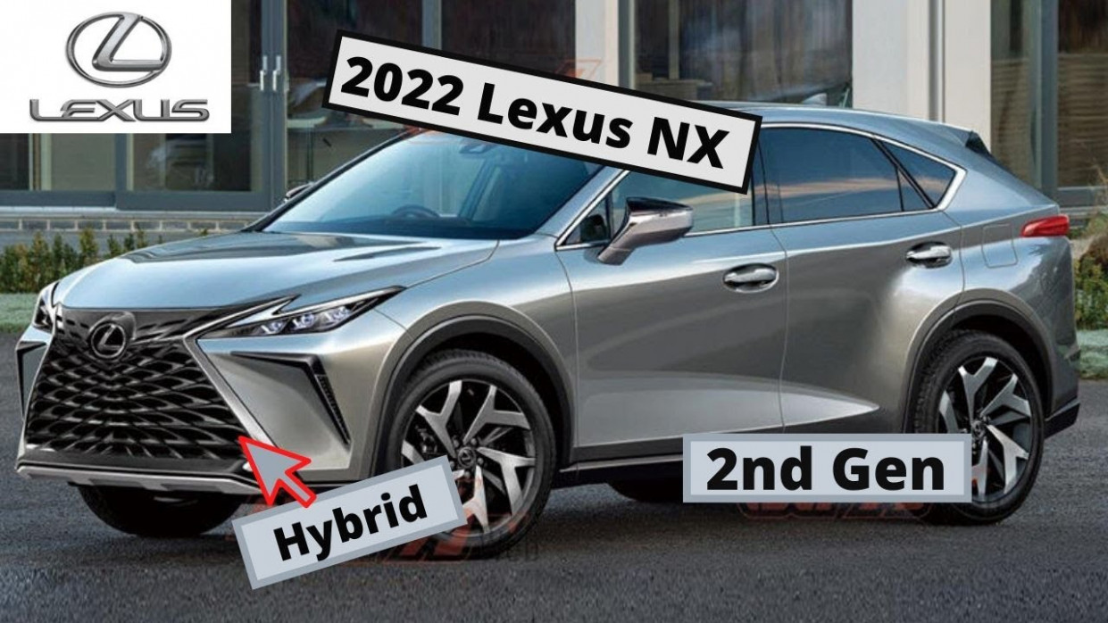 New Model and Performance 2022 Lexus NX 200t
