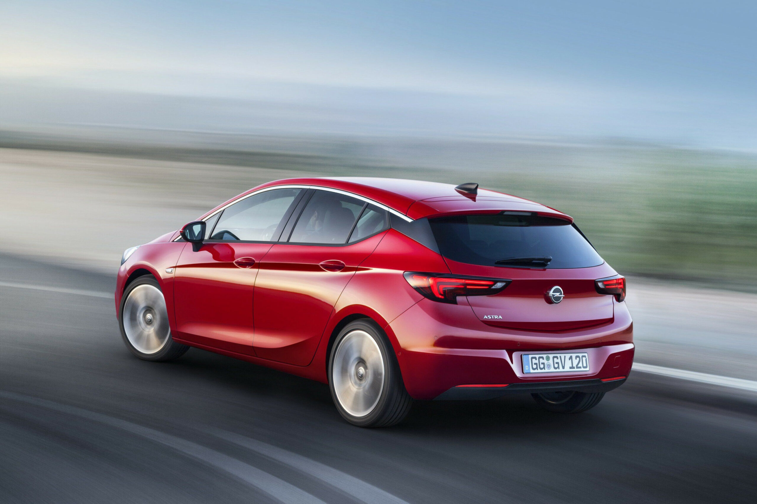 Exterior 2022 New Opel Astra
