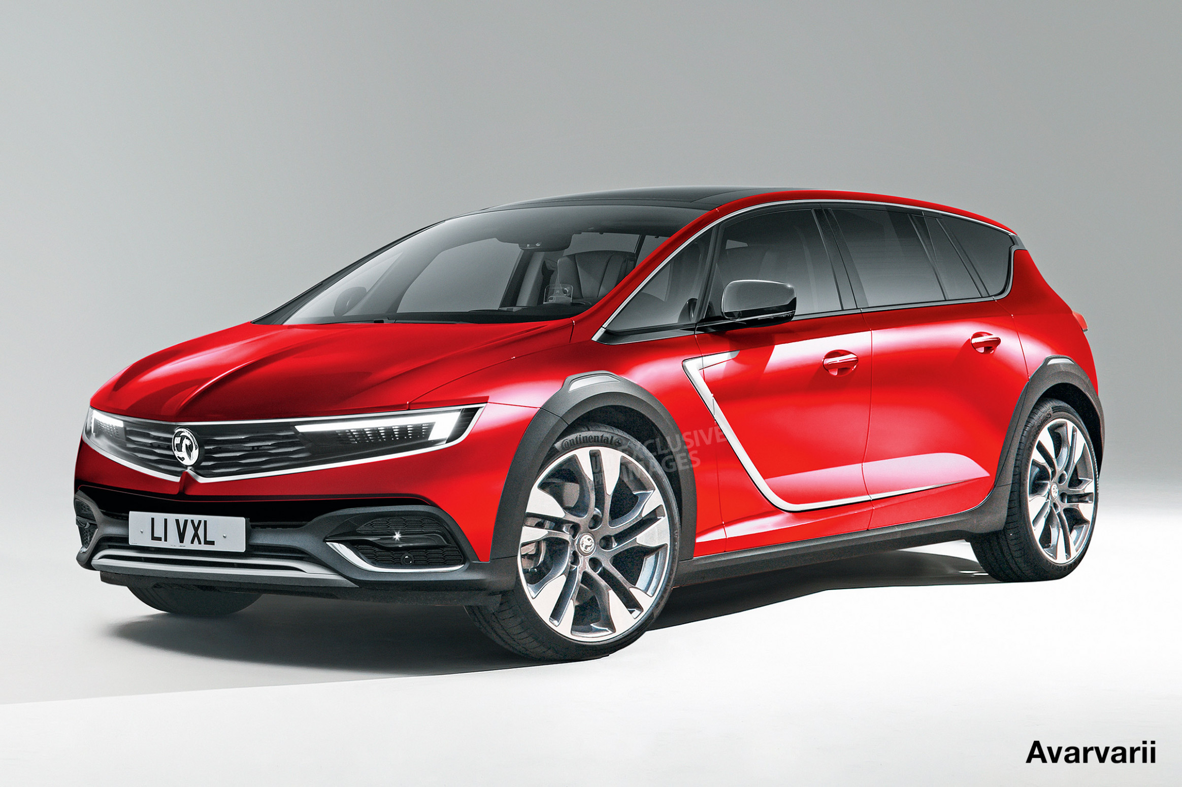 Redesign and Concept 2022 Opel Astra