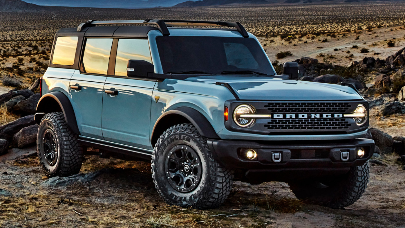 Ratings Build Your Own 2022 Ford Bronco