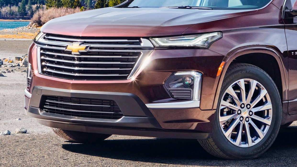 First Drive Chevrolet Traverse 2022