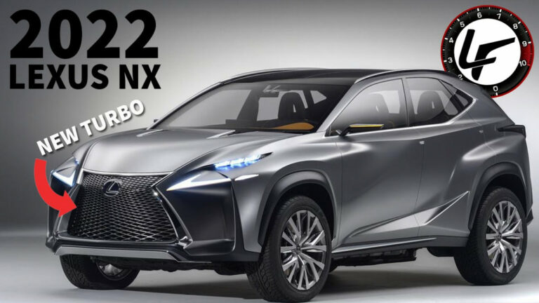 redesign and concept lexus rx 350 f sport 2022 - cars