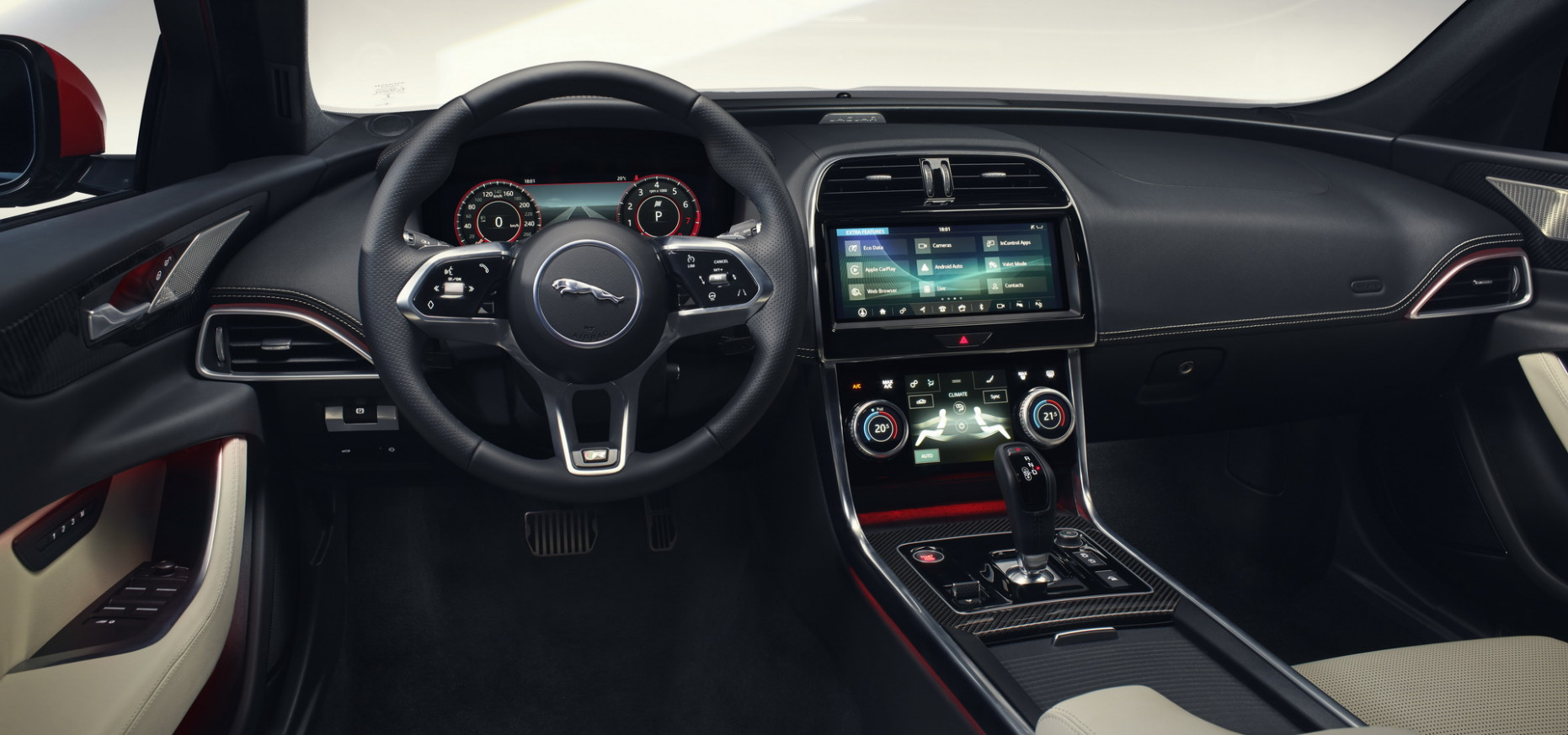 Redesign and Concept New Jaguar Xe 2022 Interior