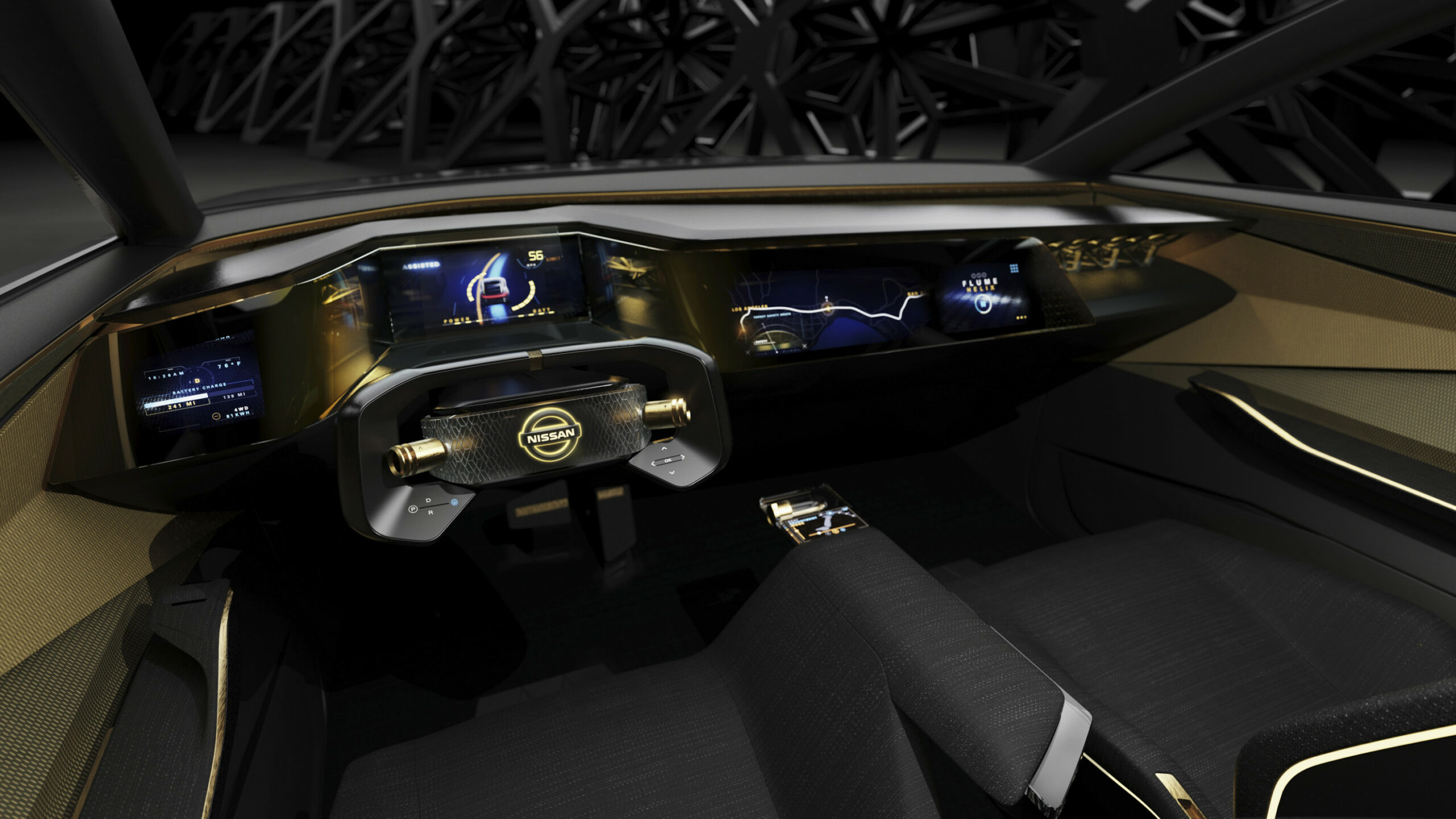Style Nissan Concept 2022 Interior