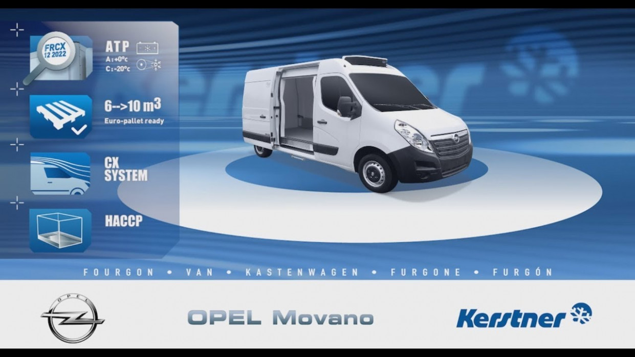 Redesign and Review Opel Movano 2022