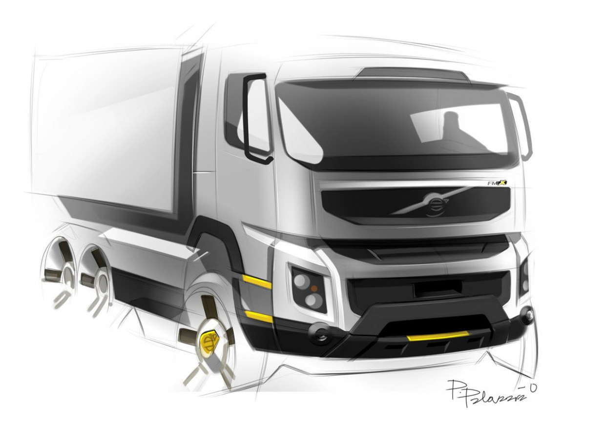 Overview Volvo Truck Concept 2022