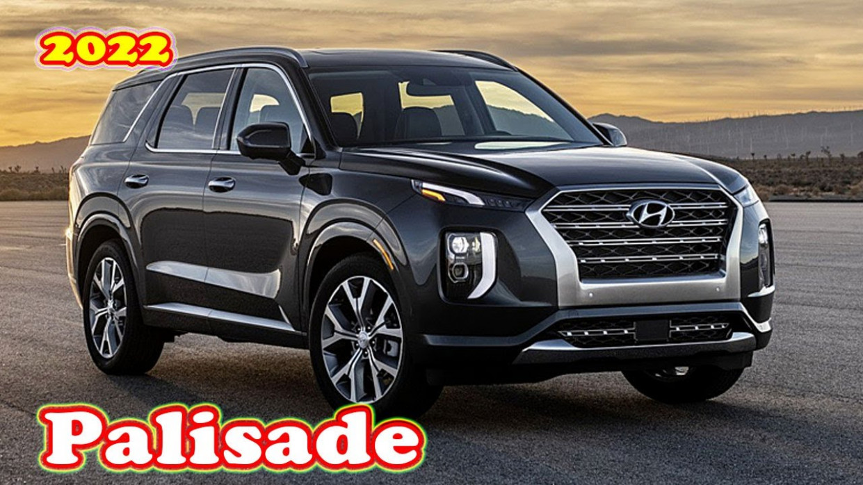 Release Date and Concept 2022 Hyundai Palisade Youtube