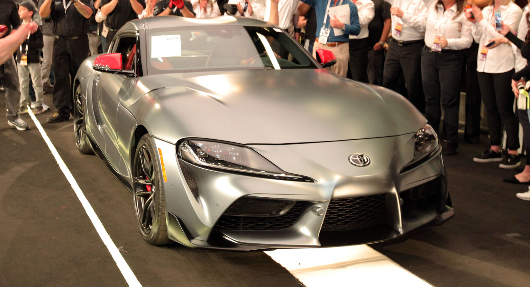 Concept and Review 2022 Toyota Supra Barrett Jackson
