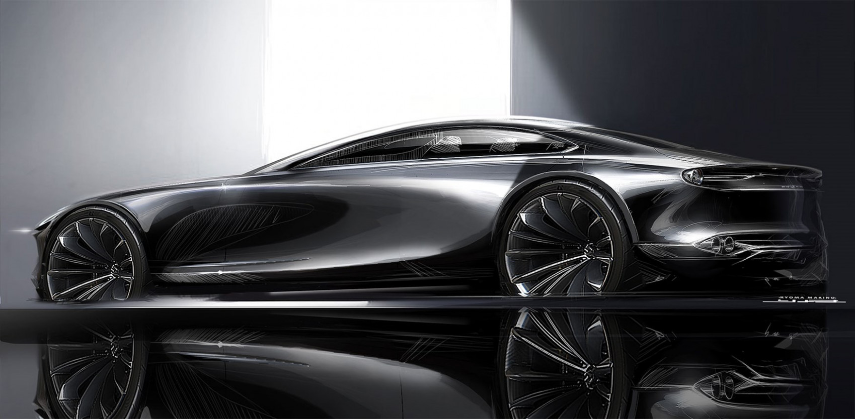 First Drive Mazda Vision Coupe 2022