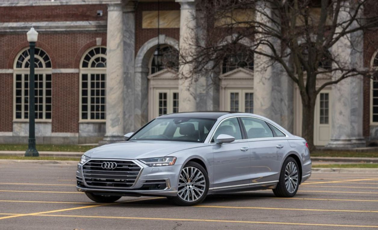 Overview Audi S8 2022
