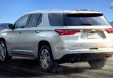 redesign chevrolet traverse 2022