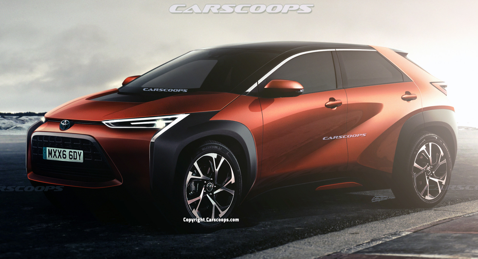 Redesign and Concept Toyota Ev 2022