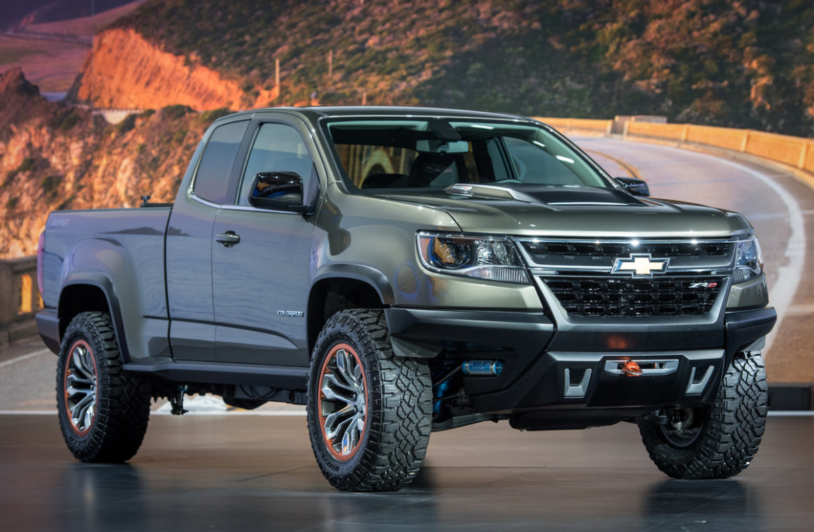 Concept and Review 2022 Chevrolet Colorado Z72
