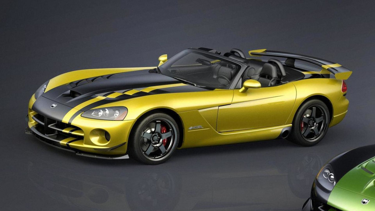Price and Review 2022 Dodge Viper Roadster