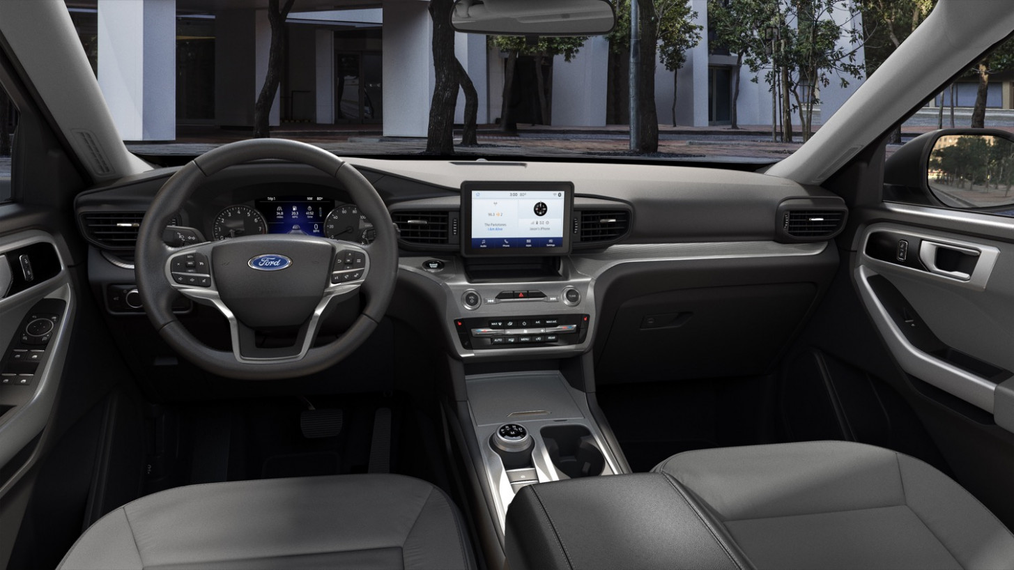 Research New 2022 Ford Explorer Interior