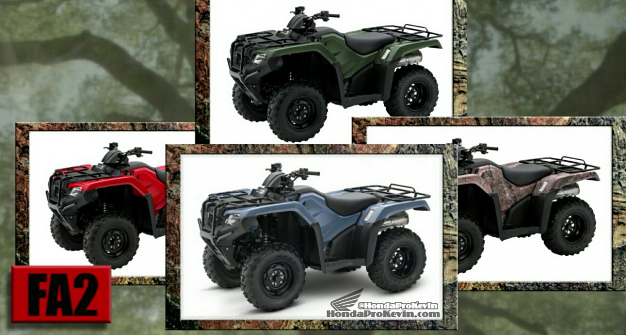 Engine 2022 Honda Atv Lineup
