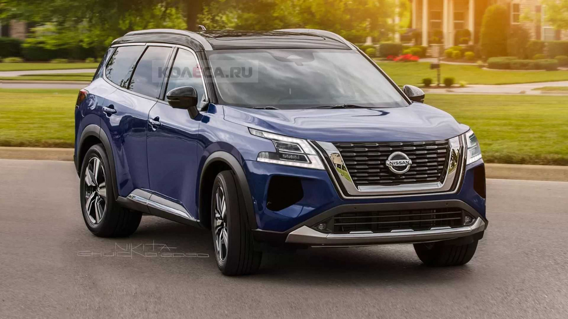 Redesign and Concept 2022 Nissan Armada