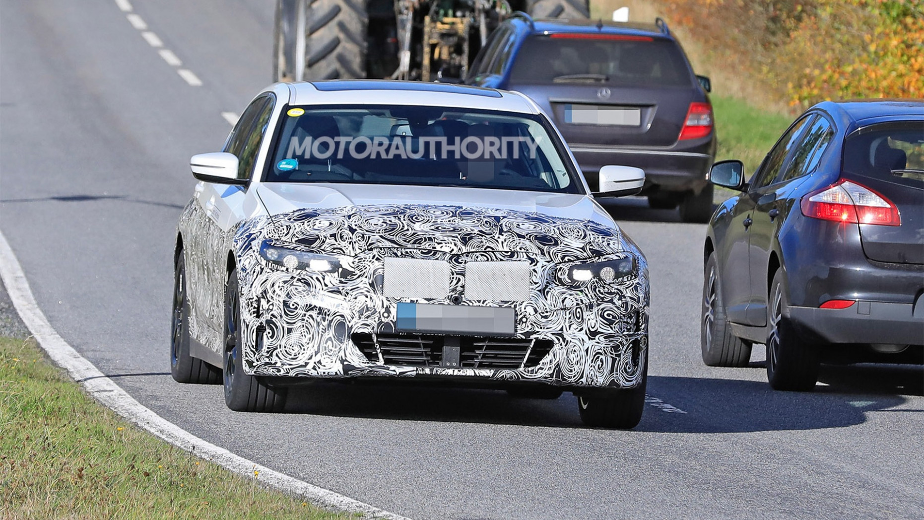 Overview 2022 Spy Shots BMW 3 Series