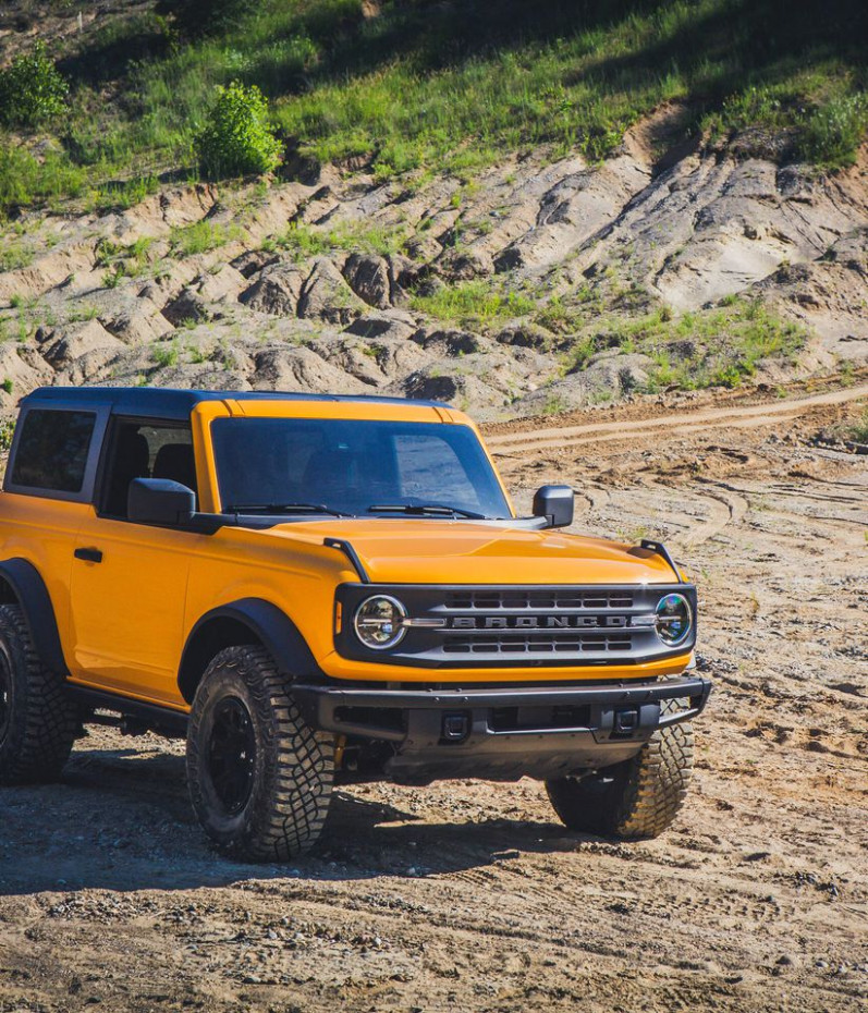 History Build Your Own 2022 Ford Bronco