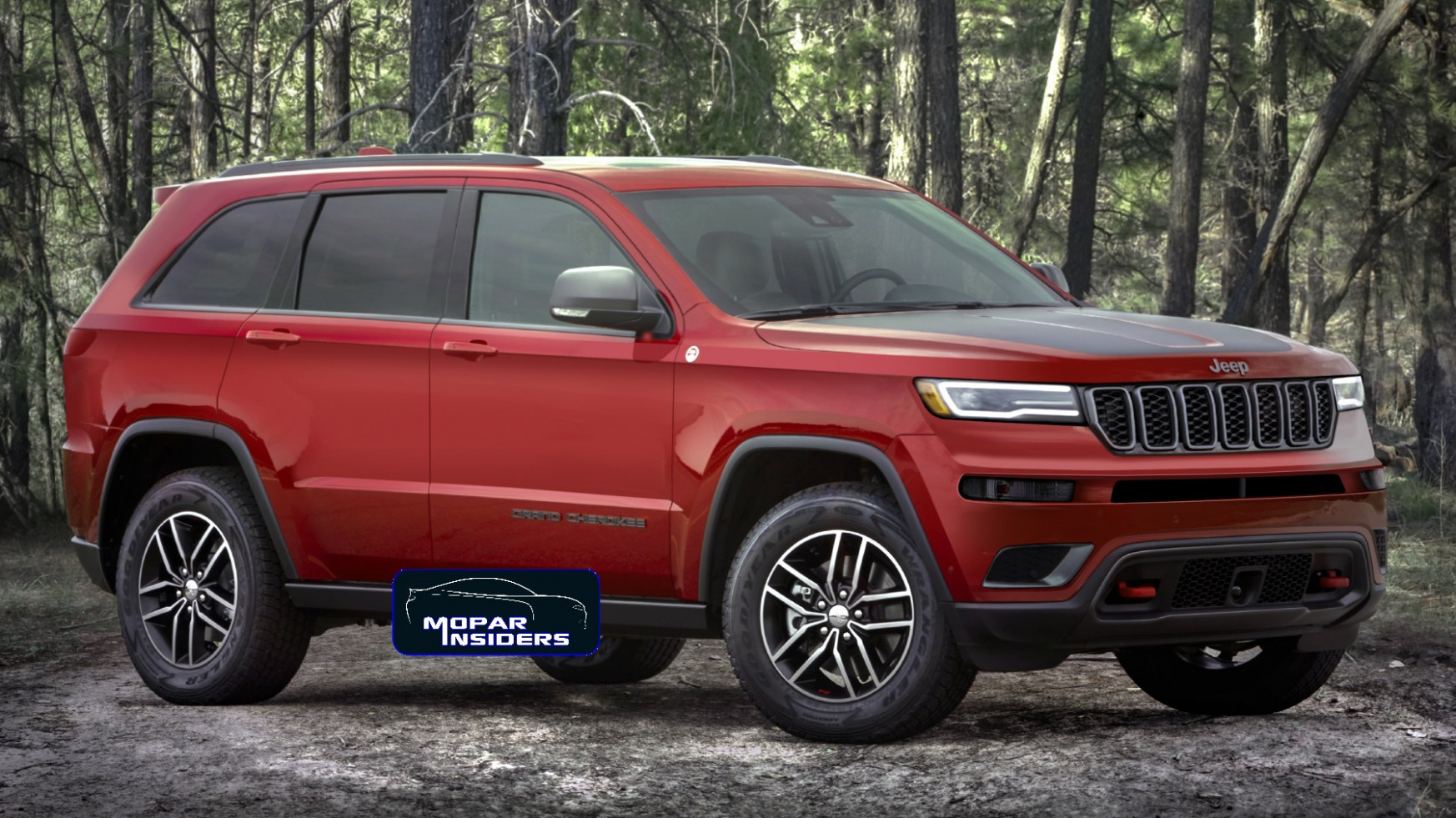 Overview Jeep Grand Cherokee 2022 Concept