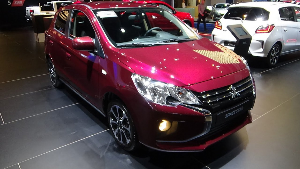 New Model and Performance Mitsubishi Space Star Facelift 2022