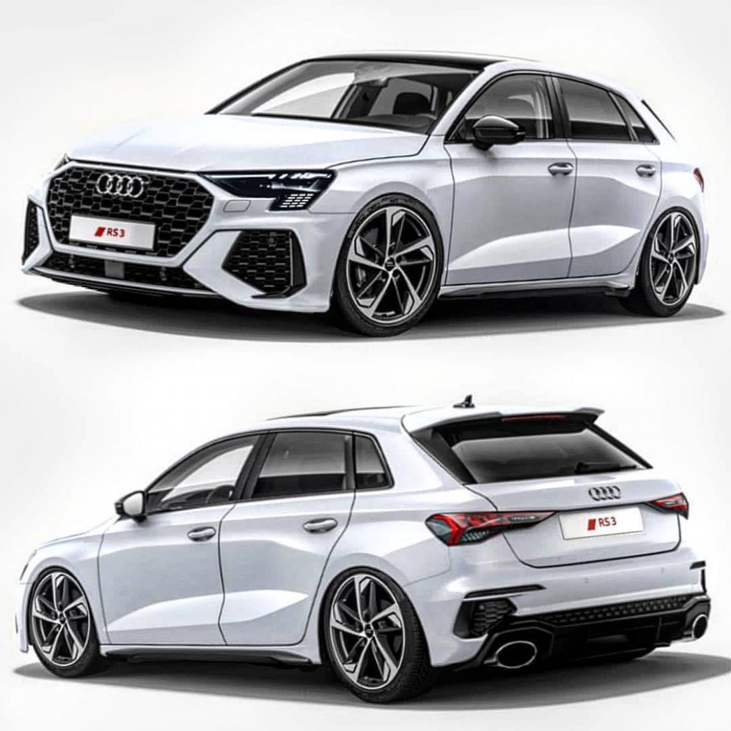 Wallpaper Audi Hatchback 2022