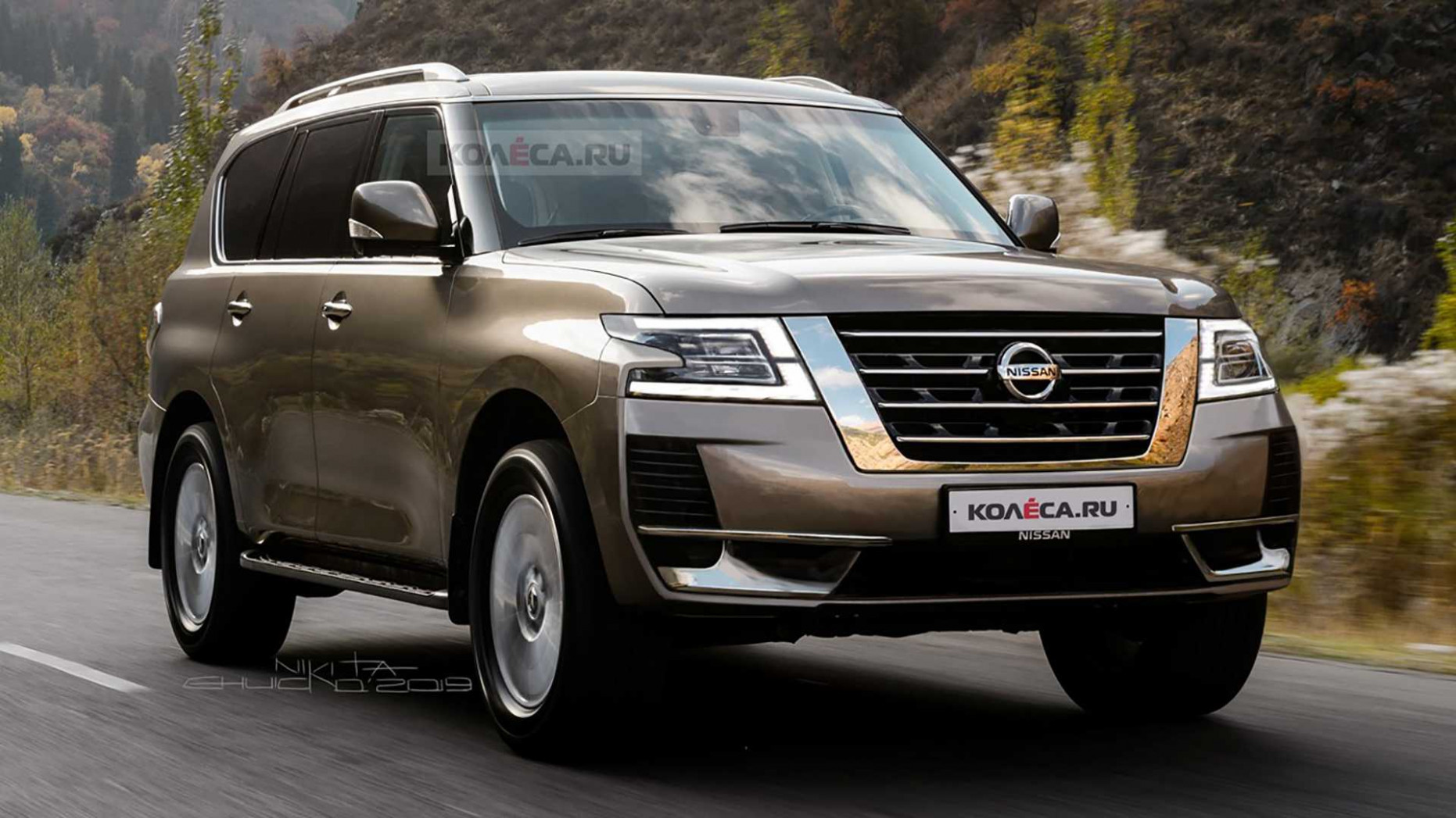 Performance Nissan Patrol 2022 Redesign
