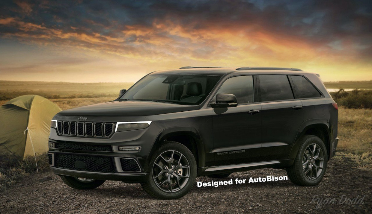 Redesign Jeep Grand Cherokee 2022 Concept