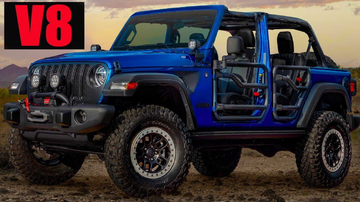 Exterior and Interior Jeep Wrangler 2022 Hybrid