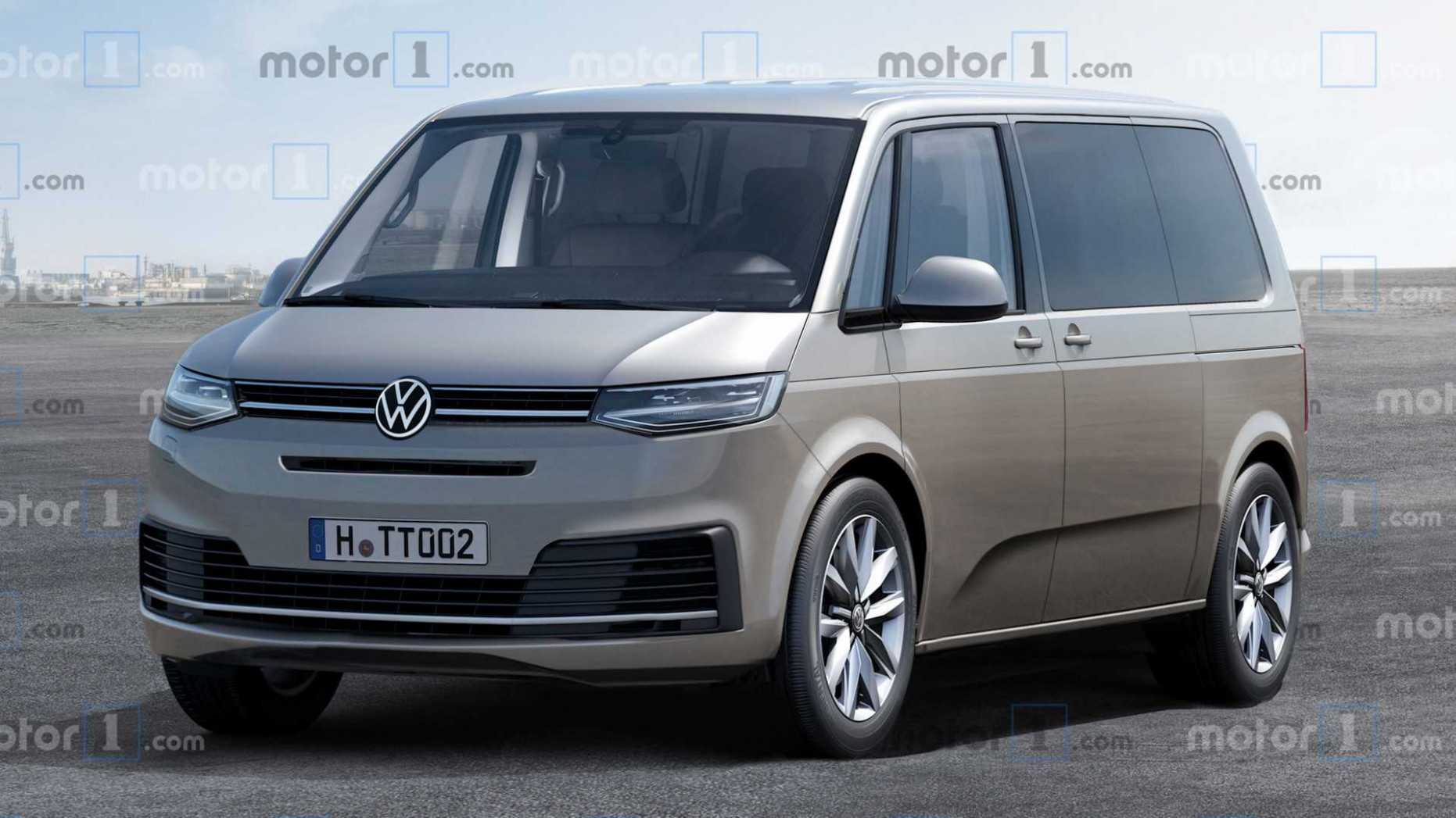 Wallpaper Volkswagen California 2022