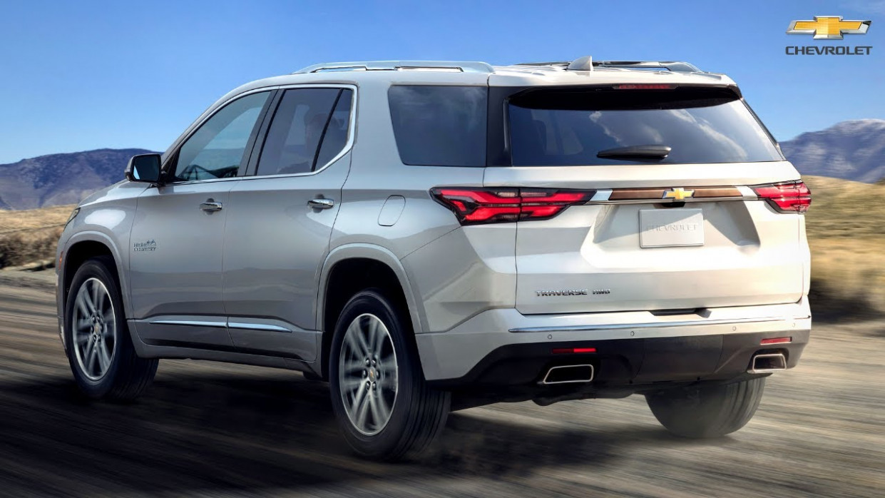 First Drive 2022 Chevrolet Traverses