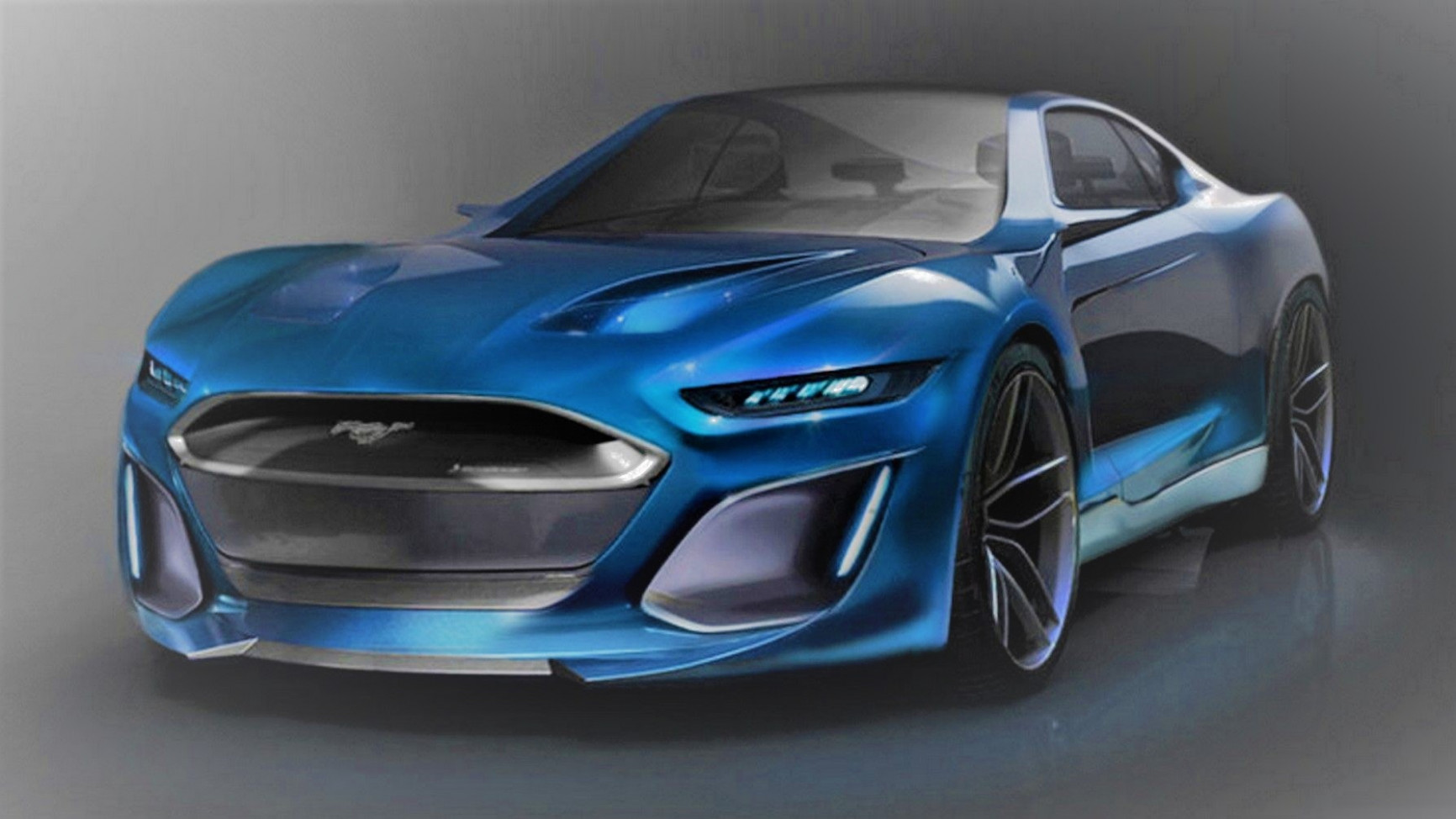 New Concept 2022 Mustang Gt500