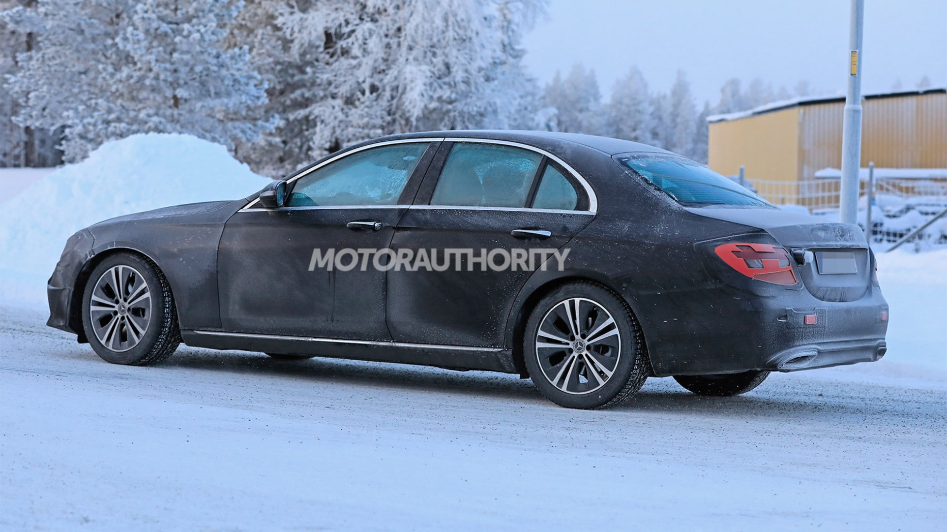 Engine 2022 The Spy Shots Mercedes E Class