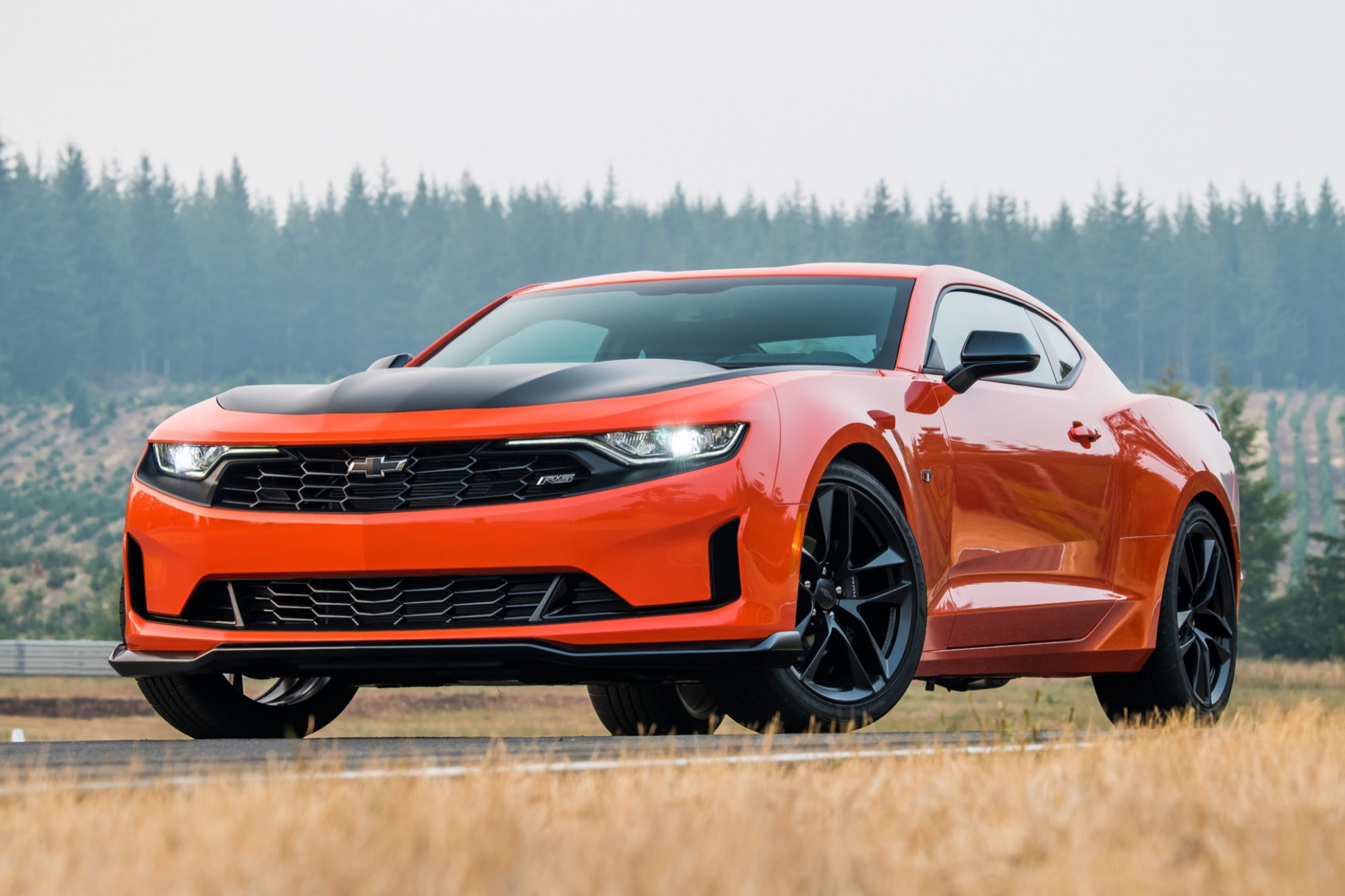 Overview 2022 Camaro Ss
