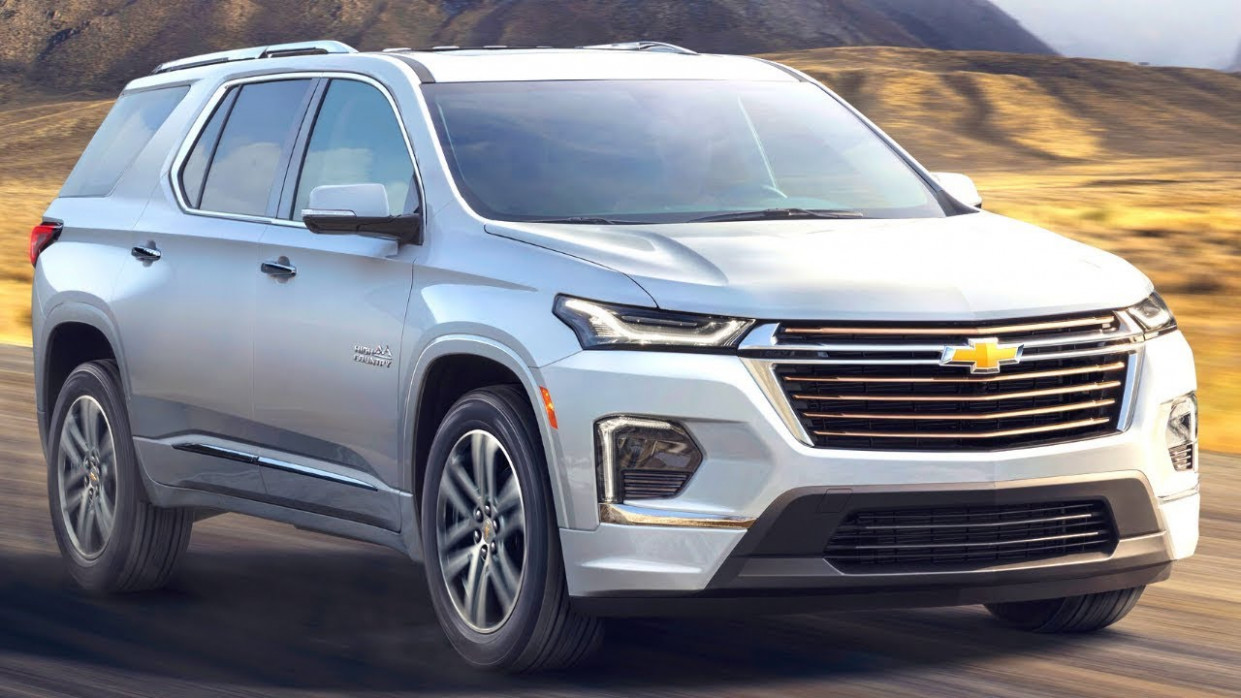 Overview 2022 Chevrolet Traverses